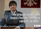 Irena Doroszkiewicz - pierwsza w historii polskiej policji kobieta genera�. Specjalnie dla niej powstaje... sp�dnica z lampasami