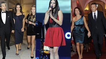 Lana Del Rey, Sławomir Nowak z żoną, Kinga Rusin z partnerem i córką.