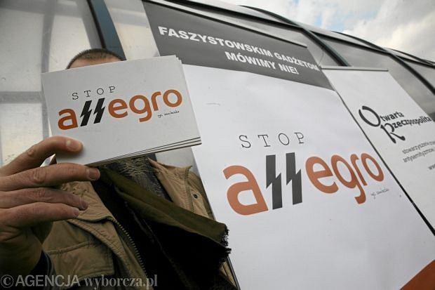 S�d uzna�, �e mo�na krytykowa� Allegro za sprzeda� faszystowskich symboli