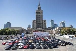 Parada Porsche w Warszawie i Tr�jmie�cie | 40 lat 911 Turbo