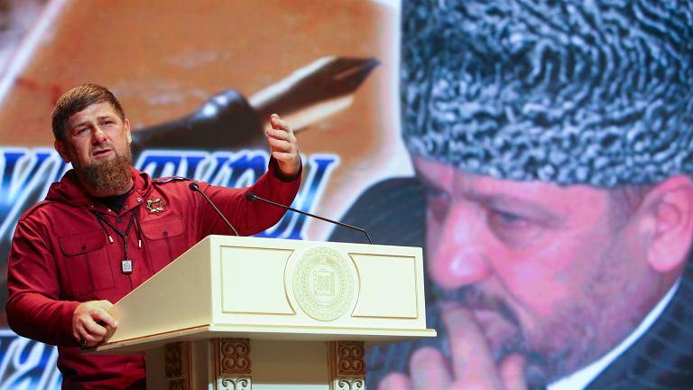 Przywódca autonomicznej republiki czeczeńskiej Ramzan Kadyrow