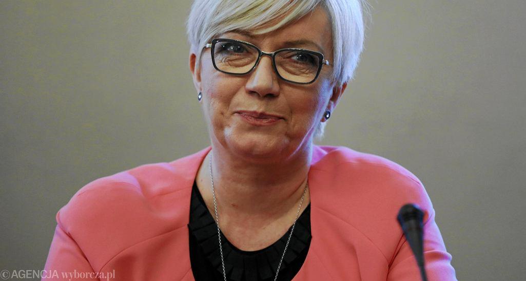 Julia Przyłębska podczas posiedzenia Komisji Sprawiedliwości i Praw Człowieka oraz Komisji Ustawodawczej, 30 kwietnia 2018
