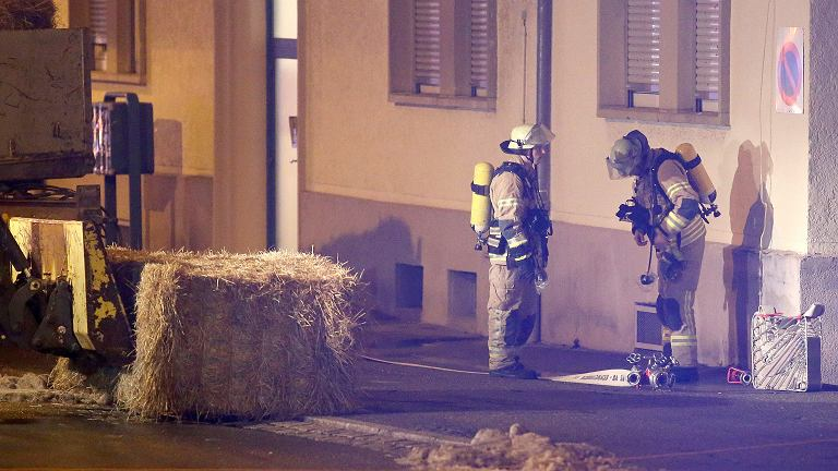 Atak na ośrodek dla uchodźców w Villingen-Schwenningen