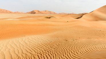 Większą część Półwyspu Arabskiego zajmują dzisiaj pustynie.