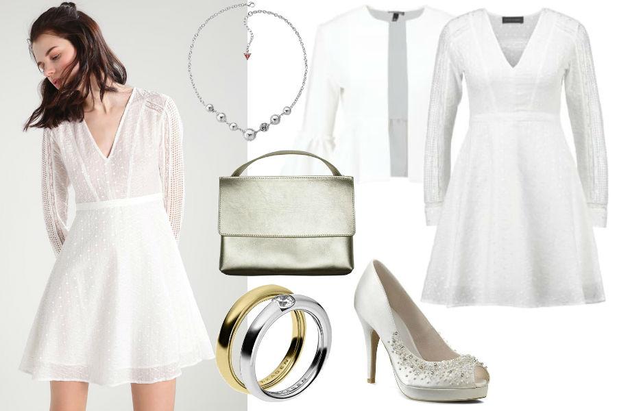 09a5822e3004 Sukienka na ślub cywilny - gotowe pomysły na stylizacje
