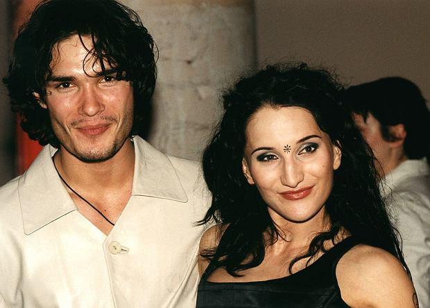 Polska 2000, Justyna Steczkowska z mężem, Justyna Steczkowska, Maciej Myszkowski