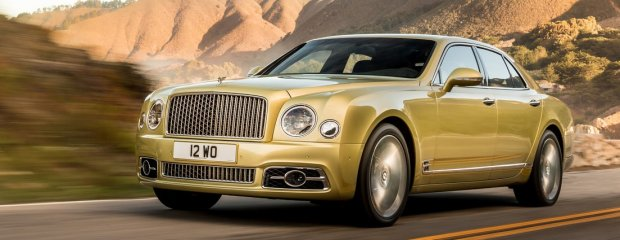 Bentley Mulsanne Speed FL 2016