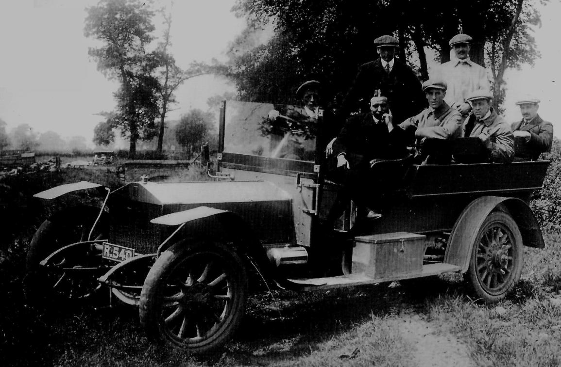 Akademia Szoferów Rolls-Royce'a, 1912 r.