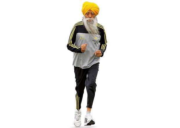 Fauja Singh - najstarszy na świecie maratończyk