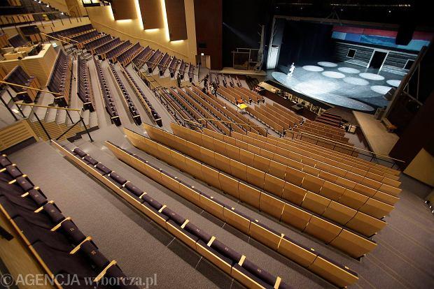 03.09.2013 Gdynia . Teatr Muzyczny po przebudowie . Fot. Dominik Sadowski/Agencja Gazeta