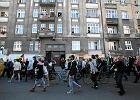"""Demonstracja przeciw """"czy�cicielom kamienic"""", w obronie lokator�w"""