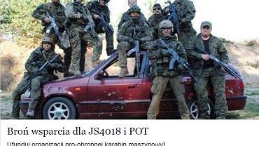 Grupa gdańszczan zbiera pieniądze na wojskowy karabin maszynowy, żeby - jak mówią - utworzyć ochotniczy batalion obrony terytorialnej