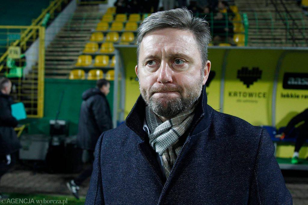 Jerzy Brzęczek na Bukowej