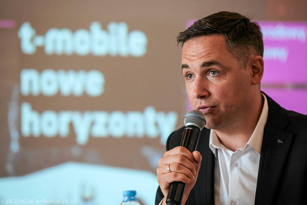 Marcin Pieńkowski - dyrektor artystyczny festiwalu T-Mobile Nowe Horyzonty / TOMASZ PIETRZYK