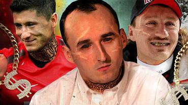 Jakby wyglądali polscy sportowcy, gdyby stylizowali się na Popka? Trochę to przerażające