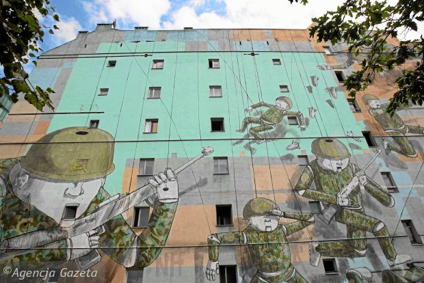 Mural to dzie o sztuki nie praca ulotna felieton for Mural ursynow