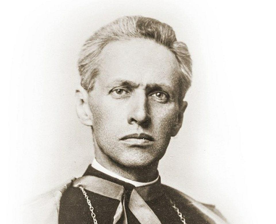 Biskup Zygmunt Łoziński (1870-1932). Uważam wygłaszanie panegiryków w kościele i przy nabożeństwach za mocno niewłaściwe i fałszujące myśl liturgiczną Kościoła - wytłumaczył piłsudczykom, dlaczego nie poświęcił kazania Marszałkowi