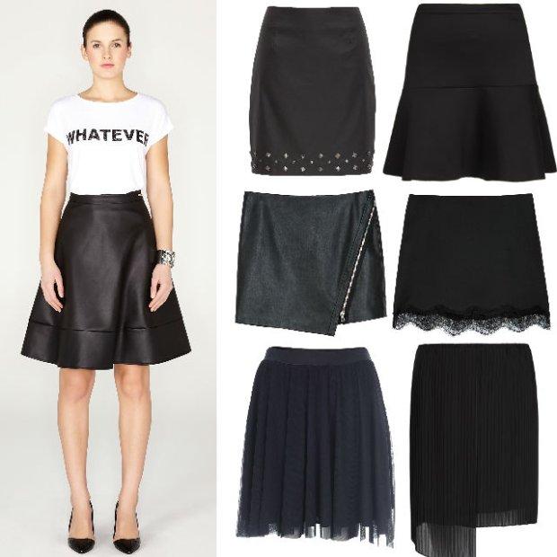 Czarne spódnice (nie tylko klasyczne)