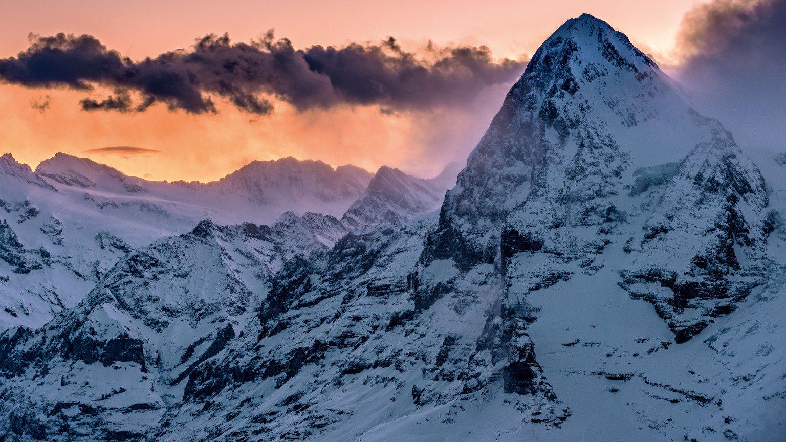 Widok na Eiger