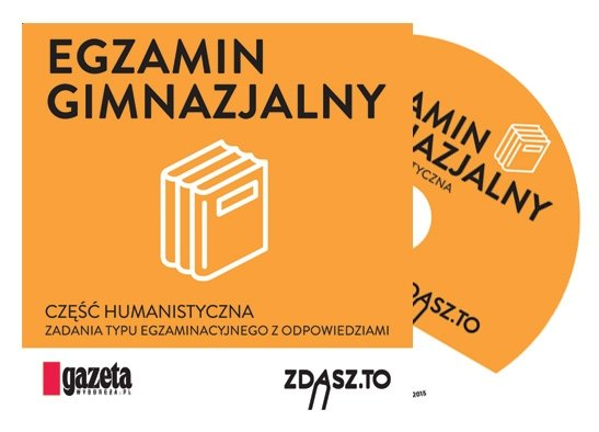 Egzaminy gimnazjalne na płytach CD