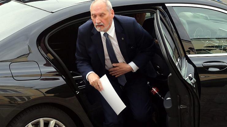 Były szef MON Antoni Macierewicz (zdj. arch.)