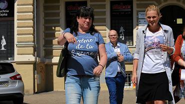 Czerwiec 2016 r., Szczecin. Danuta Sobczak-Domańska (z lewej) z Barbarą Nowacką, inicjatorką akcji Ratujmy Kobiety