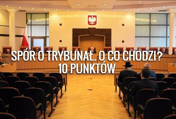 O co chodzi w sporze o Trybunał Konstytucyjny?