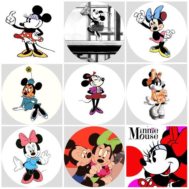 Metamorfoza Myszki Minnie - od lat 20. do XXI wieku