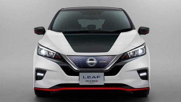 Nissan Leaf Nismo Concept - sportowy koncept