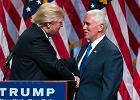 Donald Trump przedstawi� swego kandydata na wiceprezydenta. Potem wsp�lnie atakowali Hillary Clinton