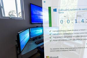 Zosta�o ci tylko kilkana�cie godzin na podj�cie decyzji. Czy skorzysta� z darmowej aktualizacji Windowsa 10?