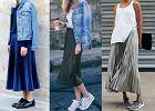 Plisowane spódnice - zobacz trzy stylizacje