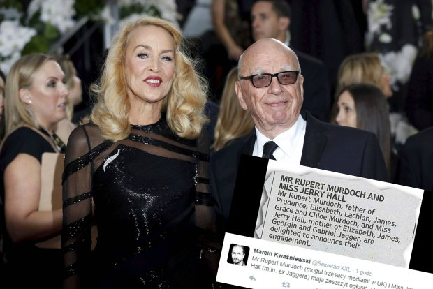 Rupert Murdoch i Jerry Hall