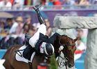 Konie. Niemiecki je�dziec zgin�� na zawodach