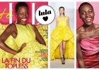 Najpierw Vogue, teraz ELLE. Lupita Nyong'o zachwyca w kolorowych kreacjach