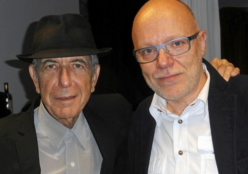 Leonard Cohen i Daniel Wyszogrodzki / ARCHIWUM DANIELA WYSZOGRODZKIEGO