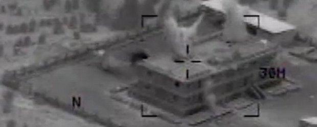 Koalicja pod wodz� USA uderzy�a na pozycje islamist�w w Syrii. Pokazali nagrania [FOTO/WIDEO]