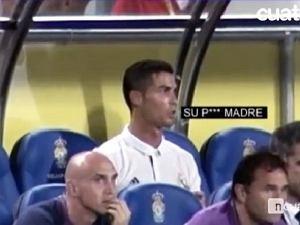 Ronaldo w�ciek�y za zdj�cie z boiska. Kamery nagra�y, co m�wi� na �awce