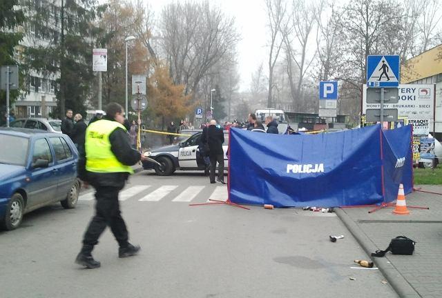 Na ul. Budryka w Krakowie doszło do zabójstwa