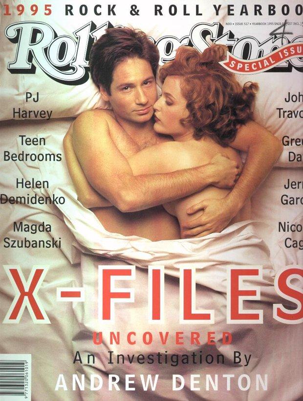 Gillian Anderson i David Duchovny