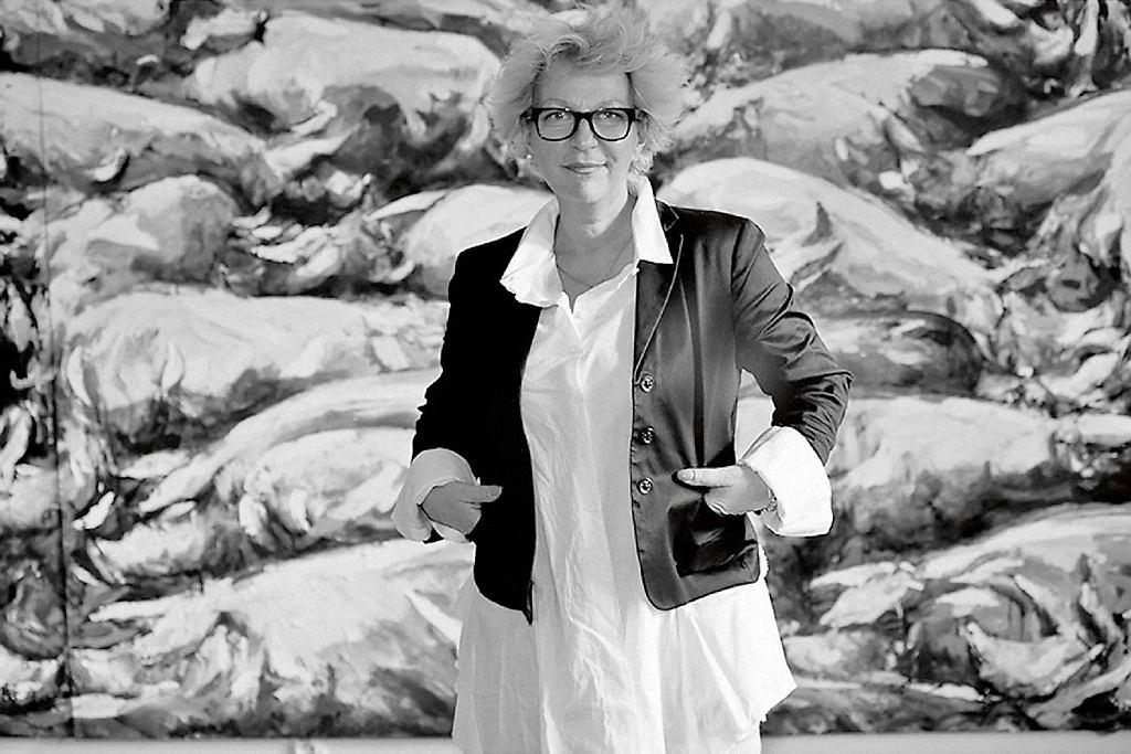 Lena Szwed-Strużyńska z Galerii Sztuki Współczesnej Mostra