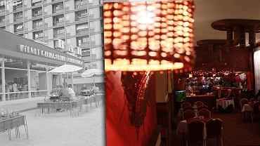 Bar Gruba Kaśka (archiwalne zdjęcie) oraz restauracja Lotos
