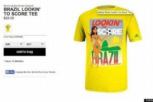 c107c6f14 Na żądanie Brazylii Adidas wycofał seksistowskie koszulki promujące mundial