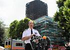 Dowódca londyńskiej policji Stuart Cundy ogłasza nowy bilans tragedii