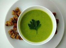 Zupa z zielonego groszku i kremowego serka - ugotuj