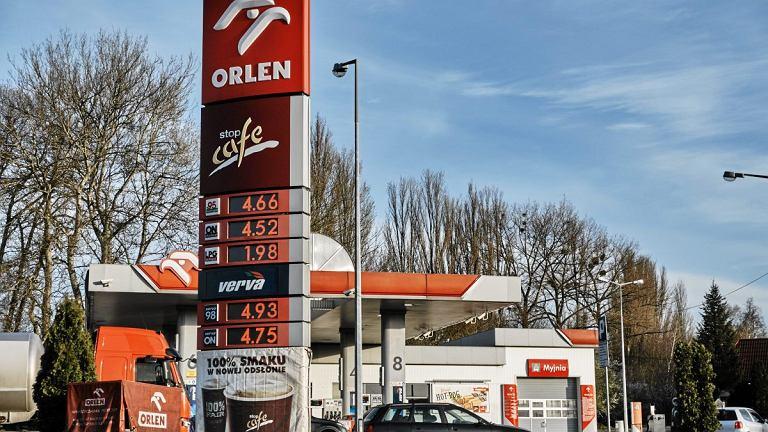 Stacja benzynowa ORLEN - zdjęcie ilustracyjne