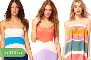 Sukienki na pla�� do 100z�