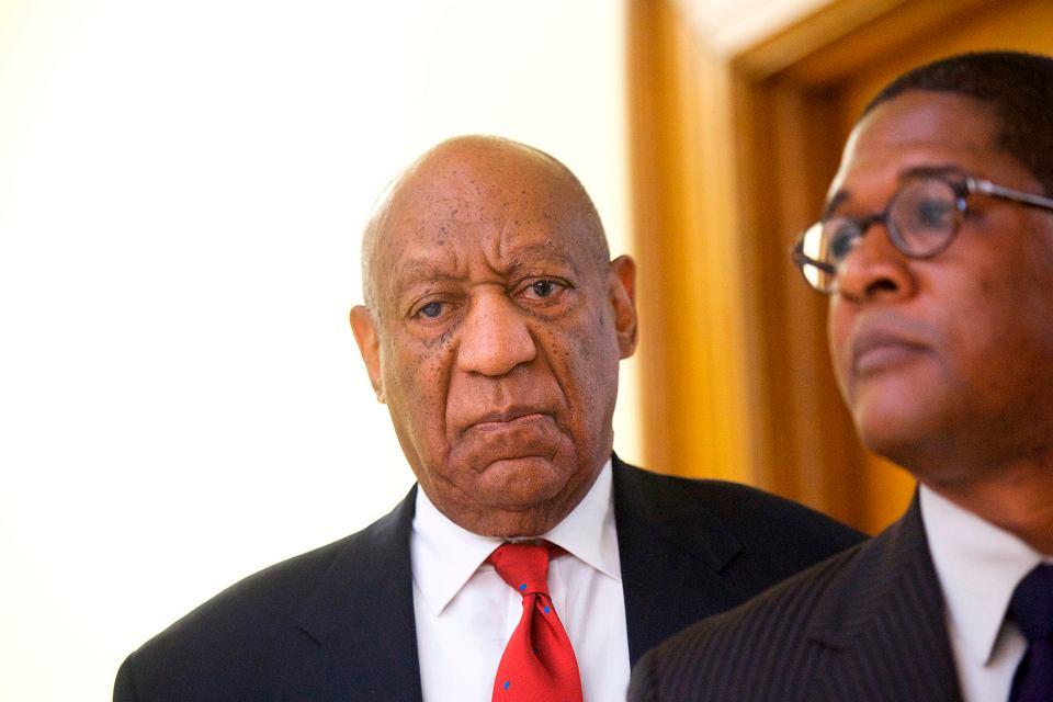 Bill Cosby po wysłuchaniu skazującego werdyktu.