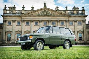 Pierwszy Range Rover na sprzeda�