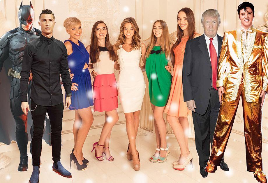 Wieczór panieński z Ronaldo, Trumpem, Batmanem i Elvisem